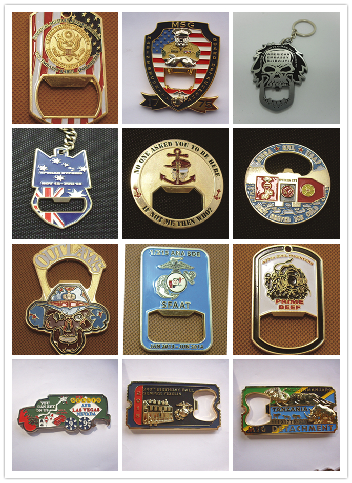 Factory high quality zinc alloy metal military medal with box