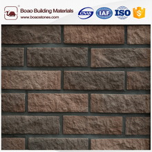 Masonry materials thin face brick veneer wall siding coating
