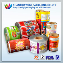 Food packaging film for potatos chips manufacture