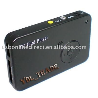 TV OUT USB 2.0 Card Reader Photo Movie Video MP4 Player