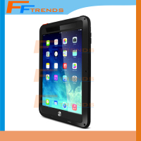 Black Luxury PU Three Protective Smart Stand Case Cover For iPad Mini 1 2 3