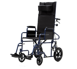 Steel Manual, Reclining Chair, Folding Wheelchair (YJ-011L)