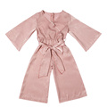 Cheap fashion long sleeves baby jumpsuit girl jumpsuit girl rompers