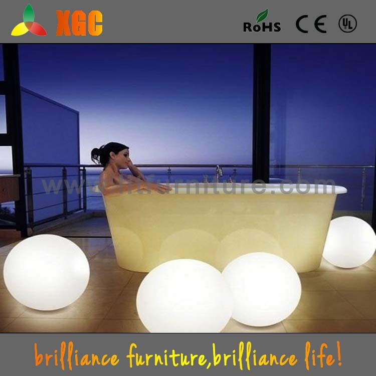 floating led illuminated swimming pool ball light waterproof led light ball led glow ball buy