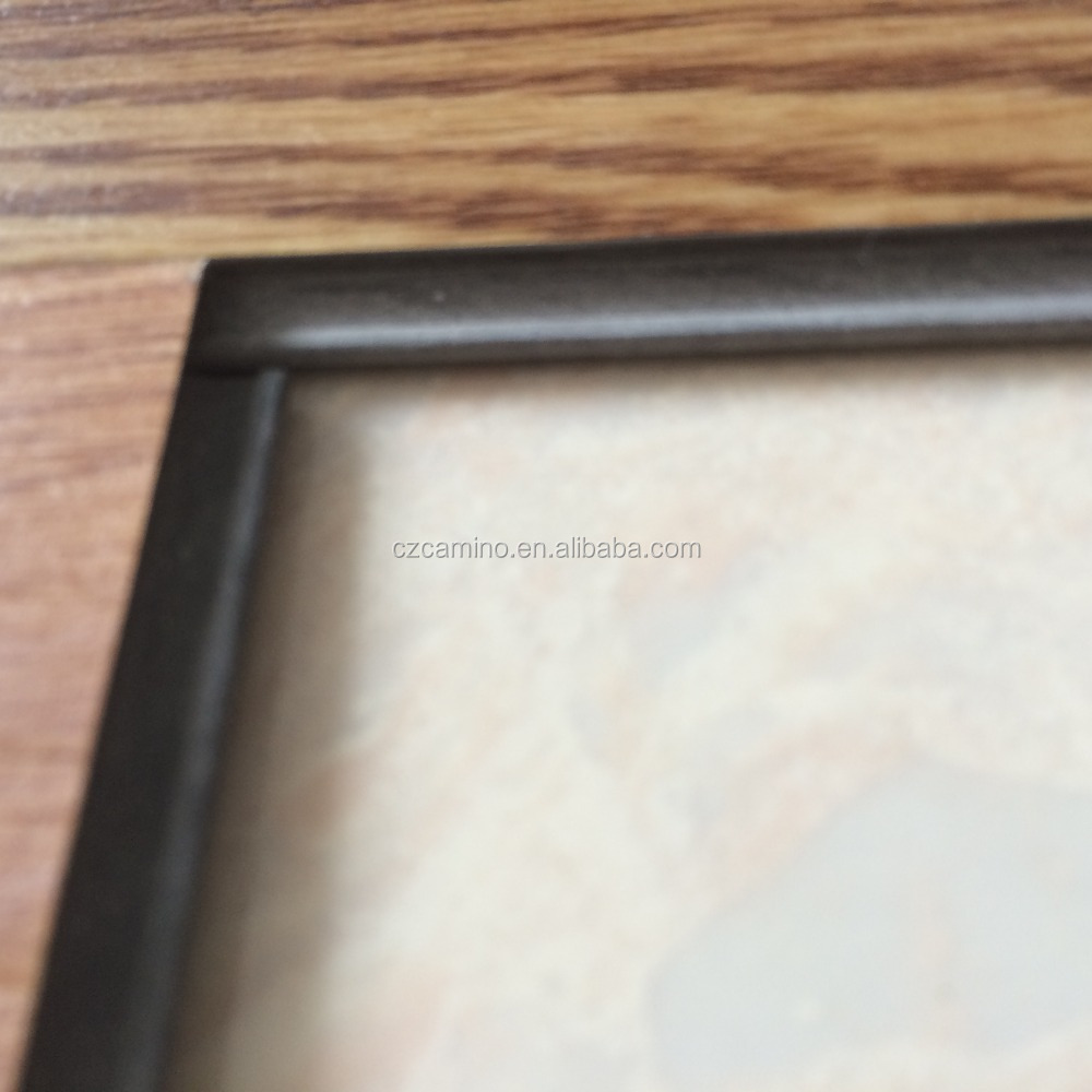 Wood grain lvt click vinyl flooring tile export to africa for Wood grain linoleum flooring