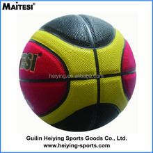 custom logo printed PU leather size 7 basketball