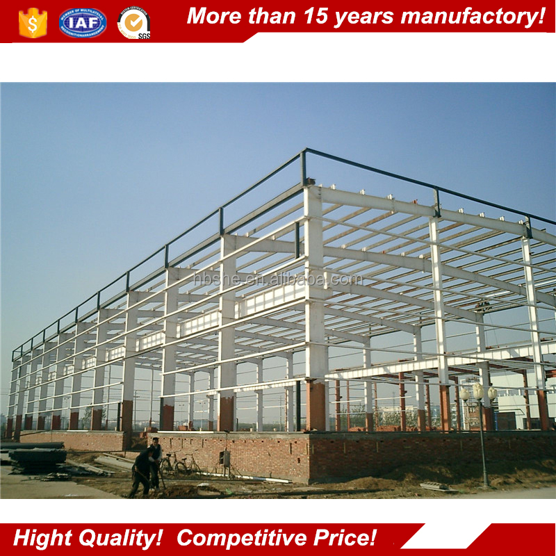 prefabricated steel structure warehouse / prefabricated sheds
