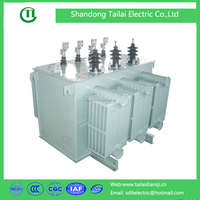 SH15 Type 3-phase Oil-immersed Duplex Winding Exciterless Regulating and Distributing Transformer