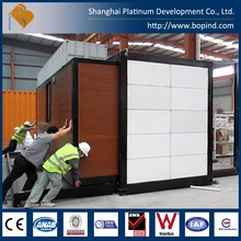 Customized prefabricated container home with ce as ulc certificate