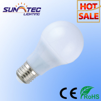 China Light Cheap Plastic Aluminum A60 600 Lumen 7W E27 LED Bulb