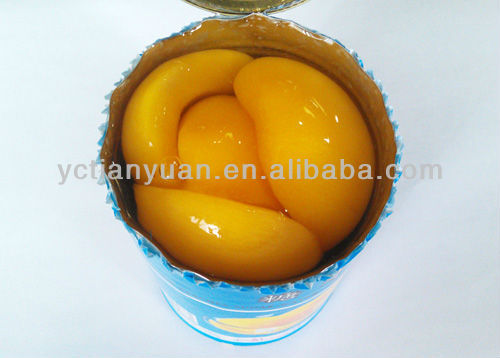 New Crop Wholesale Canned Yellow Peach Halves