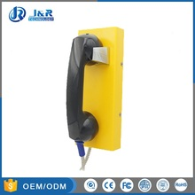 JR202-CB Vandal Resistant Hotline Telephone, Rugged Auto-dial Phones for Parking-lots