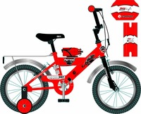 "China CE approved 12"" 14 ""16"" child four wheels bicycle,bike"