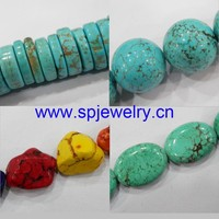 persian turquoise, round 4-20mm, many shapes for choice, 16-inch per strand