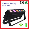 Stage Decoration For Christmas 6x10w Pixel Battery Wireless Bar