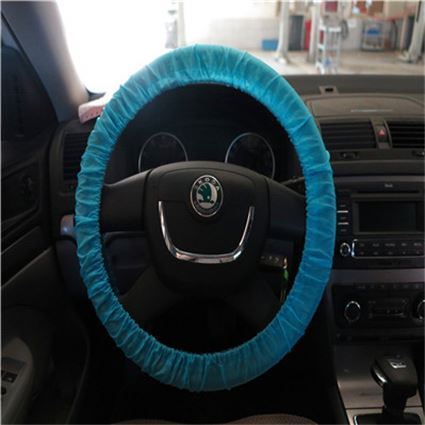 Plastic cover of replacement steering wheels
