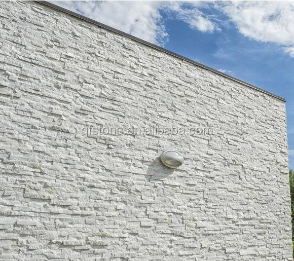 White Stone Exterior interior and exterior decorative wall veneer panel white stone