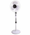 Free sample plastic materials air cooling powerfull wind 16 inch electric pedestal Stand Fan with full copper motor