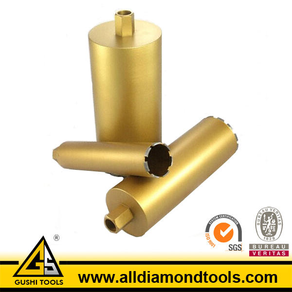 OEM Laser Welded Diamond Core Drills for Reinfored Concrete
