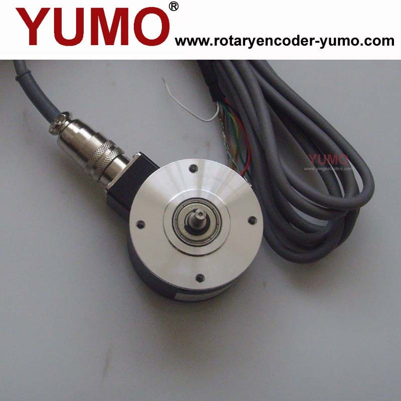 ISC6005 optical shaft rotary encoder pulse price Incremental 4mm rotary encoder