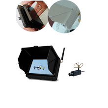 Long Range Wireless Mini HD Camera with 5inch Wireless Receiver