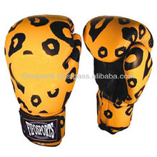 New Design printed boxing gloves / custom printed boxing gloves