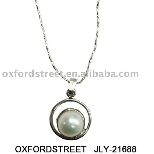 pearl pendant,fashion lady's necklace