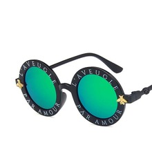 GUVIVI FDA&amp;CE <strong>Plastic</strong> child <strong>Sunglasses</strong> bee Wholesale new fashion <strong>sunglasses</strong> Trendy 2019