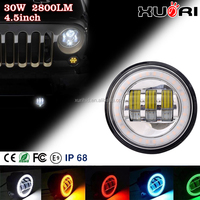 High Quality 7inch halo 4inch Led Round Headlight For Jeep Wrangler