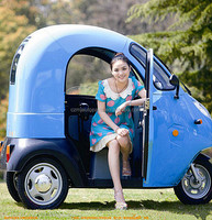 800W cargo electric tricycle with cabin for adults low prices