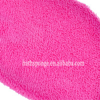 BG-009 Soft Cotton Sewing Bath Gloves for Wholesale
