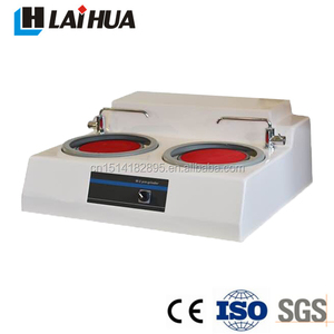 Double disc grinding polishing machine for metallographic Sample preparation