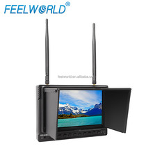 FEELWORLD New 7'' 5.8ghz DVR lcd wireless hdmi monitor with battery