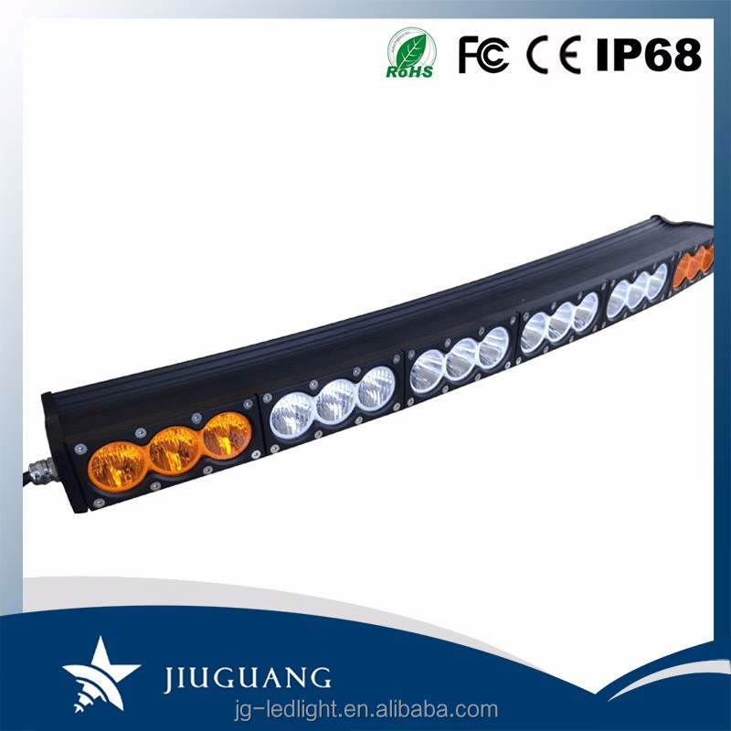 Cheap Price White Yellow Light IP67 24.8 Inch 120W LED Light Bar