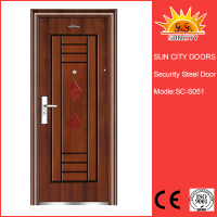 SC-S051 Best Sale Interior Steel Security Doors,Indoor Security Doors