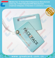Face To Face Plastic Luggage Tag Set