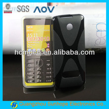 X wave TPU cell phone/mobile cover/case for Nokia 3010 301