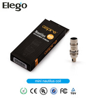 Elego wholesale Genuine Aspire nautilus MINI atomizer BVC coils in stock