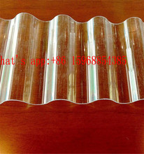 Polycarbonate corrugated roofing sheet/polycarbonate sheet/polycarbonate roofing sheet