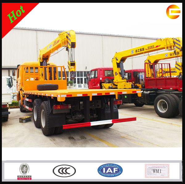 2016 Hot Sale China XCMG Boom Truck Mounted Hydraulic Crane Price