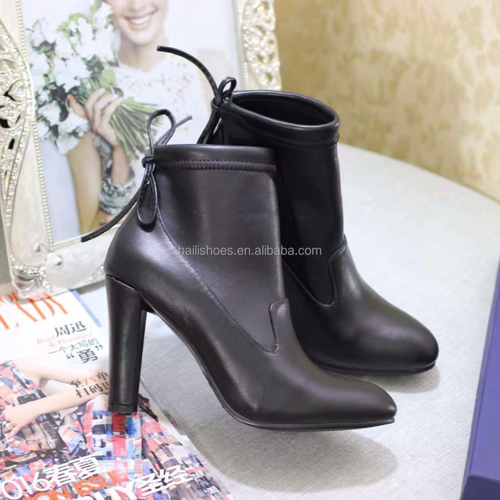 Sex fashion genuine leather high heel ladies boot