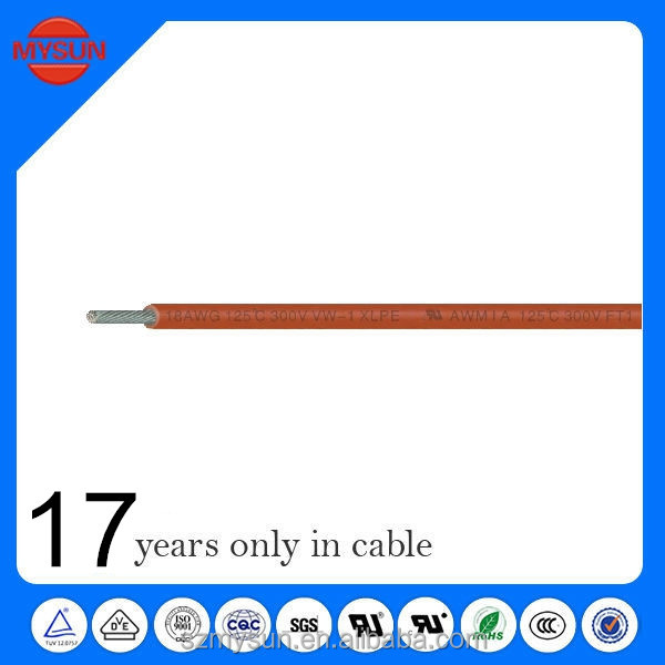 XLPE Hook-up Wire UL 3321 28AWG xlpe insulation materials building cable
