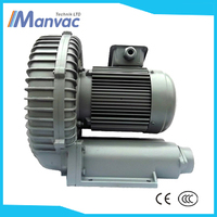 Manvac Black sliver aluminium 1.6kw single stage industrial siemens vacuum pump
