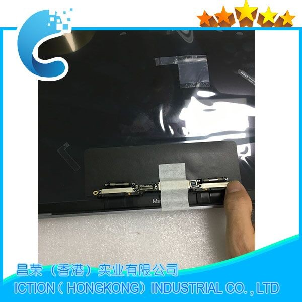 "Laptop Silver Space Grey 13'' A1706 A1708 LCD Screen Display Assembly for Macbook Retina 13"" Full Complete LCD 2016 2017 Year"