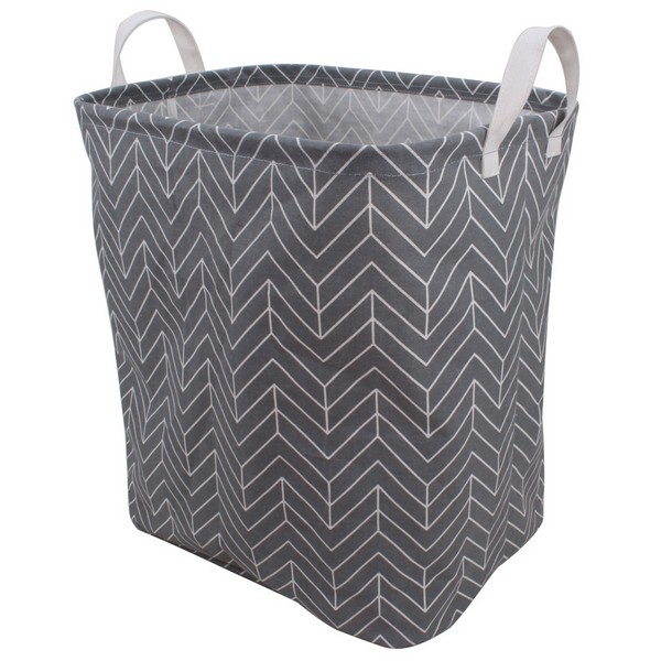 JN 2360 Fabric Foldable Round Laundry Basket Hamper Closet Storage Bin Bag Basket Toy Clothes Towel Laundry Box Container