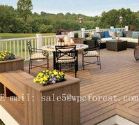 composite decking,Eco-friendly WPC outdoor decking,water and slip resistance wpc floor for outdoor
