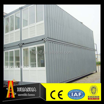 Two-storey and large prefabricated modular hotel for sale