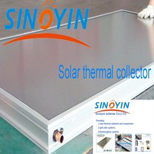 solar thermal collector of white frame,2.0sqm,laser welding absorber