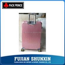High quality aluminium frame travel bag trolley luggage