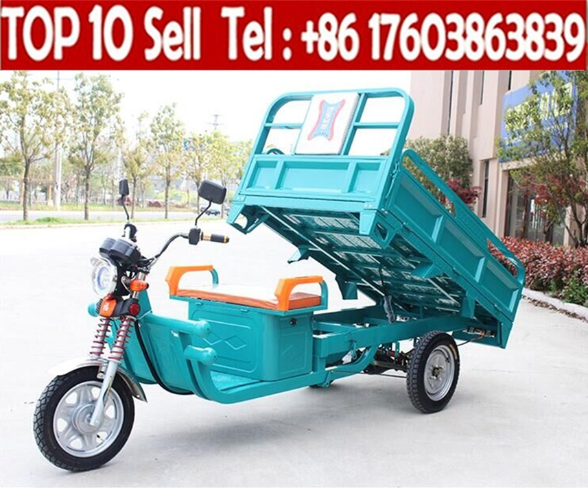 Electric Big Wheel 3 Motorcycle/cargo Motor Tricycle Cargo Bike